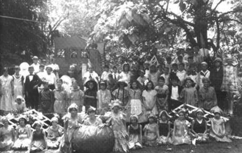 Somerset School operetta in 1931,  Mother Goose